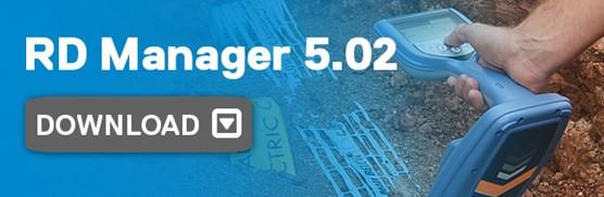 Radiodetection Anuncia El Lanzamiento De RD Manager 5.02 Y Del Software De Localización 1004