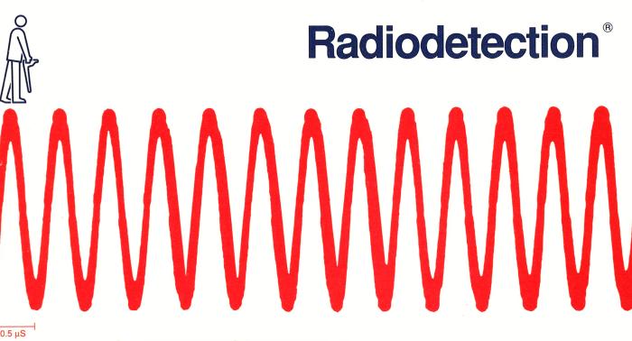 Hágase Amigo De Su Localizador De Cables Y Tuberías Radiodetection